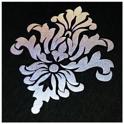 Textilvinyl - Reflex - Silver - Stahls'