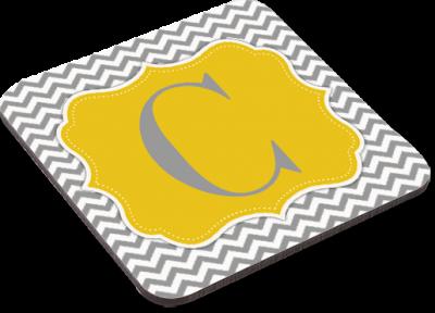 Glasunderlägg för sublimering - Fyrkantig - Hårdpapp & baksida i kork - Unisub