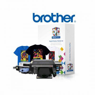 Digital Factory 10 DTG Apparel Edition - Brother Edition GTX & GT-3 - CADLink