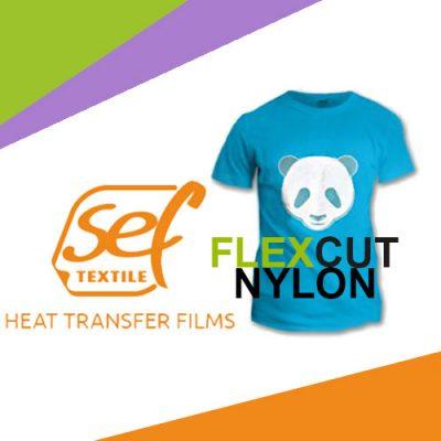 Textilvinyl - Slät - FlexCut Nylon - SEF
