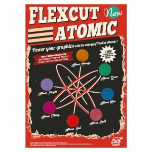 Färgkarta - FlexCut Atomic - SEF