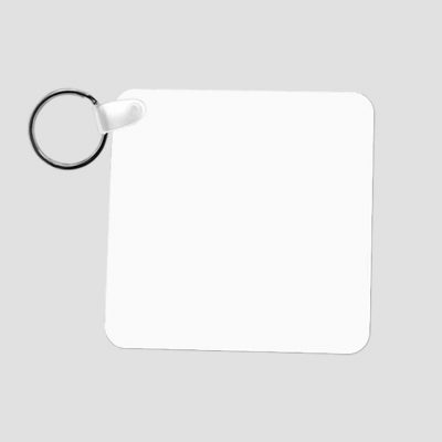 Nyckelring för sublimering - Plast - Fyrkantig - Unisub