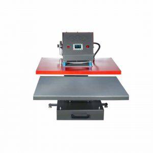 Värmepress TP10 pneumatic - 80 cm x 100 cm - Secabo