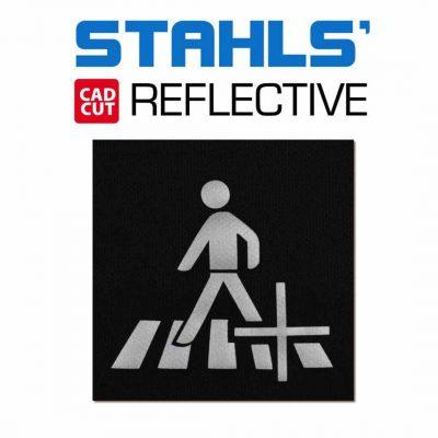 Textilvinyl – Reflex – Silver – Stahls'
