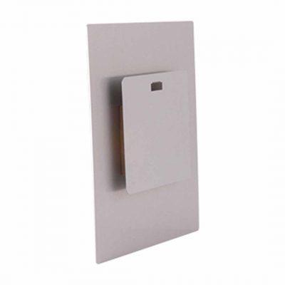 Vägghängare med distans till fotopanel - Aluminium - 127 x 127 mm - ChromaLuxe