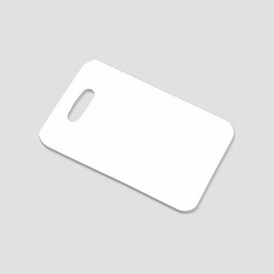 Bagagetag för sublimering - Plast - Rektangel - 2-sidig - Unisub