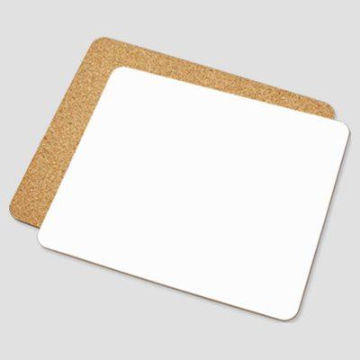 Bordsunderlägg för sublimering - Fyrkantig - Vit blank yta - Unisub
