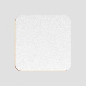 Glasunderlägg för sublimering - Fyrkantig - Texturerad - Hårdpapp - Unisub