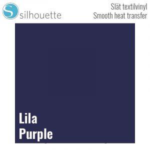 Slät värmetransfer - Lila - 22,9cm x 91cm - Silhouette