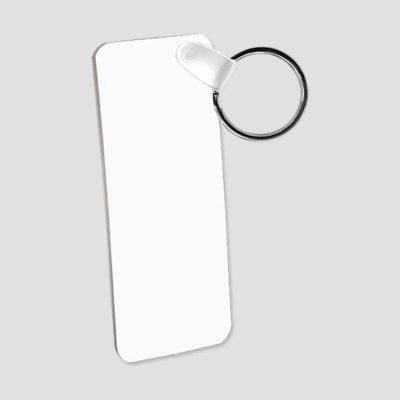 Nyckelring för sublimering - Rektangel - Aluminium - Unisub