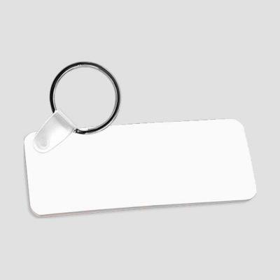 Nyckelring för sublimering - Plast - Rektangel 31 x 76 x 2.29 mm - Unisub