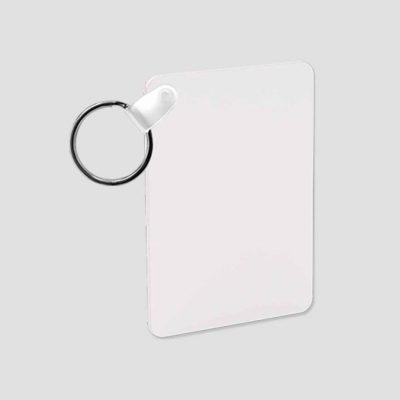 Nyckelring för sublimering - Aluminium - Rektangel - Unisub