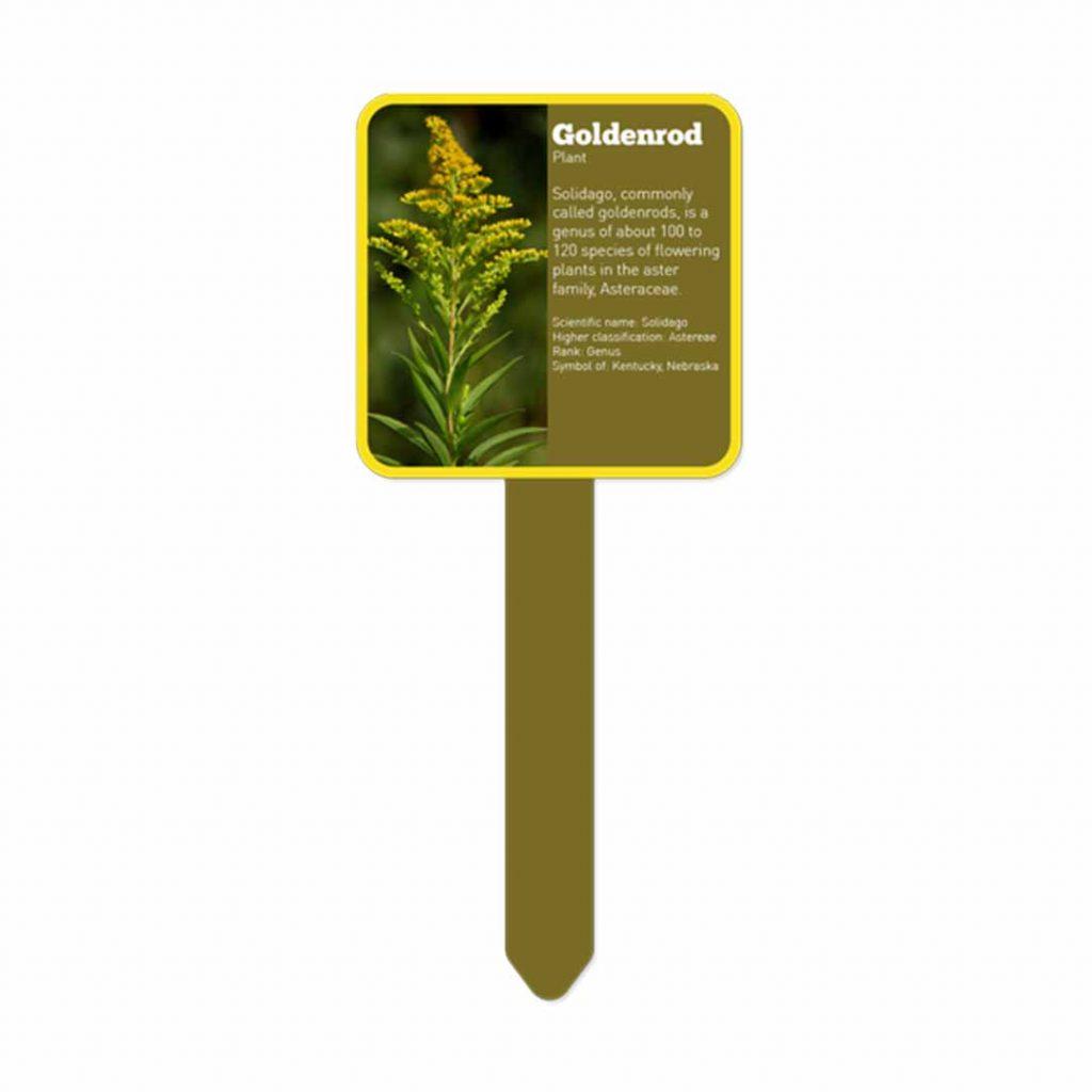 Trädgårdsskylt för sublimering - Fyrkantig - Utomhus - Unisub