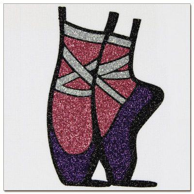 Textilvinyl - Glitter - Stahls'