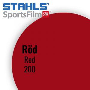 SportsFilm Röd 200