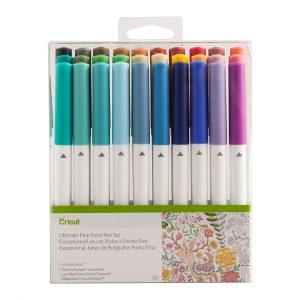 Ultimate pen set med 30 pennor i olika färger för Cricut Maker och Cricut Explore