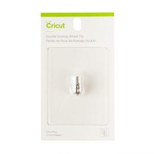 Cricut Double Scoring Wheel Tip - Ett dubbelt bigningshjul för Cricut QuickSwap-hylsa - endast för Cricut Maker-serien
